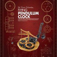 Flying pendulum clock_600